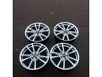 "18"" VW GOLF PRETORIA ALLOY WHEELS AUDI SEAT SKODA PASSAT 5x112 et 45"