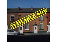 St Ann's Large 2 Bed House to Let Rent, Available Now, Refurbished, Ransom Road Nottingham NG3 3LH