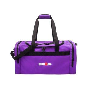 IRONMAN 24 Inch Large Sports Travel Size Duffle Gym Bag (Purple)