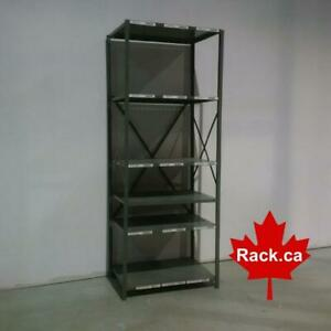 New And Used Industrial Shelving For Sale - Large selection of types and sizes - great for warehouse or home garage