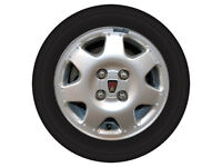 METRO GTI ALLOY WHEELS AND TYRES GOOD CONDITION