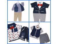 NEW GIRLS AND BOYS CLOTHES. AGES VARY FROM BABY TO 14 YEARS