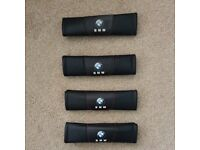 BMW Seat Belt Shoukder Pads (set of 4) Good condition