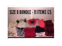 Ladies clothing Bundle Size 6