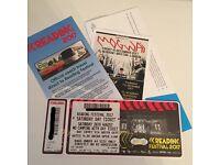 Reading festival Saturday ticket