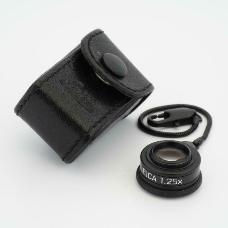 Leica 1.25x Viewfinder Magnifier 12004 for M Cameras