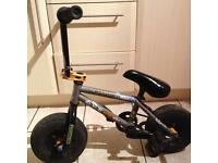 Limited edition mini rocker bmx