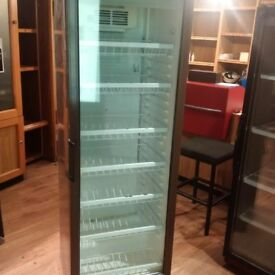 large commercial Tefcold wine or drinks cooler or larder fridge