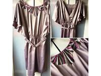 Lipsy Art Deco style dress, size 10 - 12
