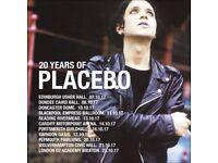 Standing ticket for sale - Placebo, Sat 7th Oct, Usher Hall, Edinburgh