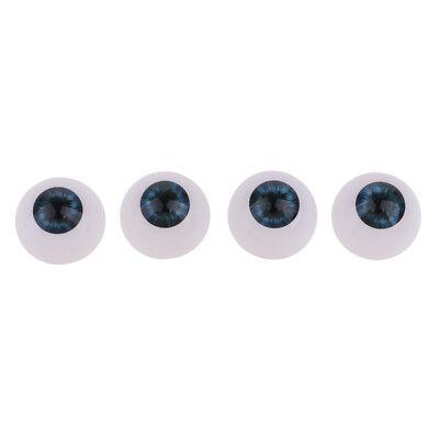 Machen Für Halloween (24mm Acryl Eyeballs Sicherheitsaugen für Baby Puppe DIY machen Halloween)