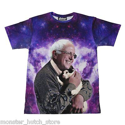 Nwt Beloved Shirts Bernie Sanders Cat Tee Shirt Small 3Xlarge Made In The Usa