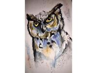 A5 Card - Owl