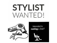 Chair for rent in busy salon. Reasonable rent.