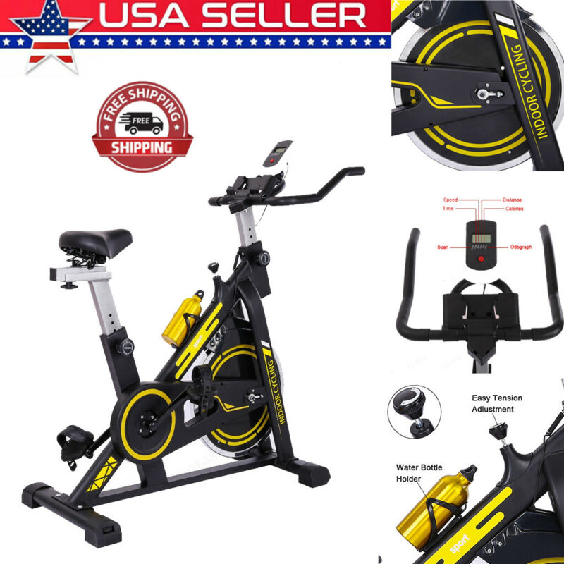 Exercise Bike Stationary Cycling Cardio Fitness Workout Gym