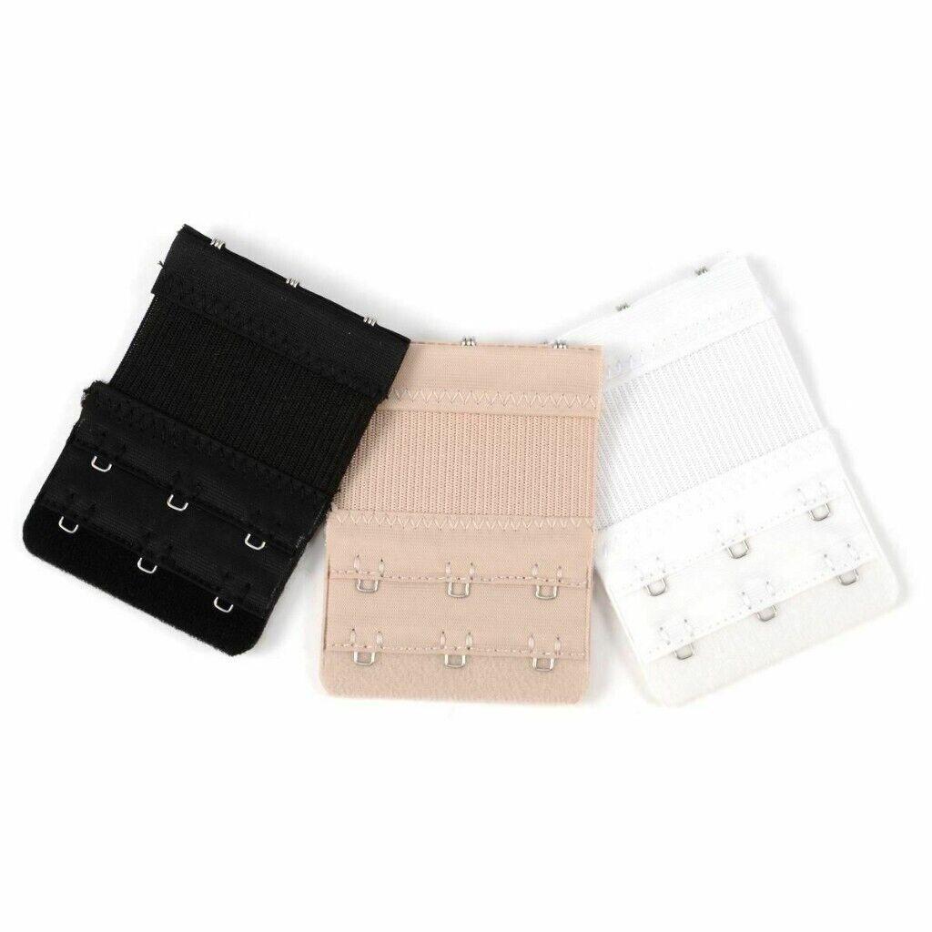 3df8327846c28 Wholesale Job Lots 10 x 3pcs Bra Extender Hook Ladies Bra Extension Strap  Underwear (SKU50345)
