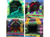Cheap Bouncy Castle Hire £45 and disco dome £90
