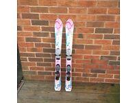 Girls K2 Love Bug Used Skis 100cm
