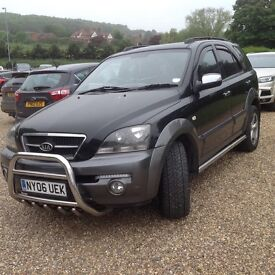 Kia Sorento 4x4, 2006 Deisel Manual with bull bar & tow bar
