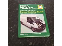 Ford transit Haynes manual 56 reg 0N