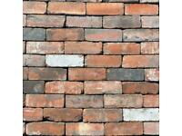 """Reclaimed Imperial Used Bricks - 3"""" Cleaned & Ready - 40,000+ Available - UK DELIVERY"""