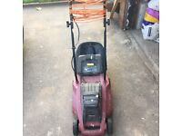 Sovereign 1200 w 34 inch rotators lawnmower. Model GLM34N2