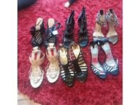 6 pairs of shoes never worn