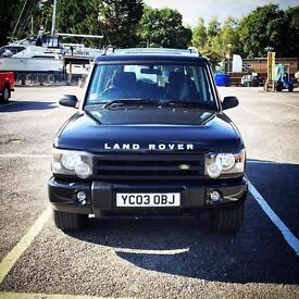 2003 Land Rover discovery 2.5 diesel Td5 ""