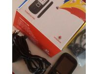 Mobile Phones - Vodaphone 340 with charger, leads and user-guide. Boxed.