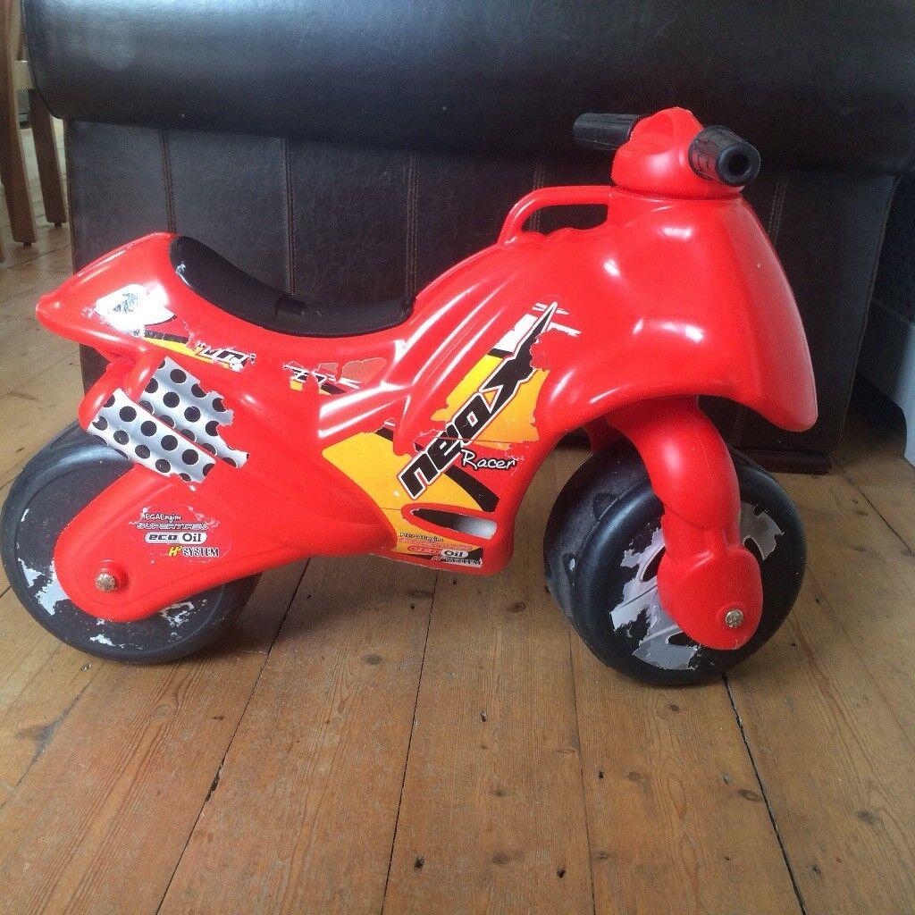 Motorbike ride on toy