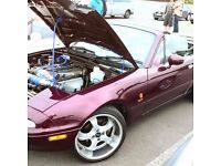 Mx5 mk1 1.8 uk merlot special addition