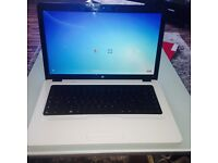 HP DUAL CORE LAPTOP IN WHITE VERY GOOD COND WORKING WELL NO LONGER NEEDED HENCE SWOP BEST IPHONE SAM
