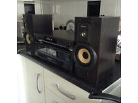 Technics stack system with speakers