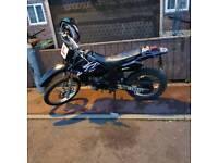 Dt 125r 06 can ride on cbt swap for motorcross bike