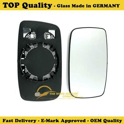 Right Side Covex Wing Mirror Glass For Volvo 240  Fits to reg 1988 to 1993