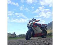 Ducati 749 Bisposto rarer than gsxr, cbr, r6,