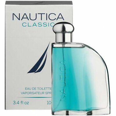 Nautica Classic 3.4 oz / 100 ml Men's Cologne EDT Spray New in Box