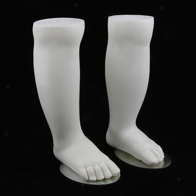 Feetfoot Display Mould Mannequin Model For Baby Shoes Socks Stocking 1 Pair