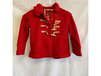Next Girls Red Coat with Hood