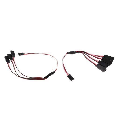 2pcs y splitter servo lead extension wire