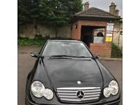 Mercedes Benz Black C180 Kompressor