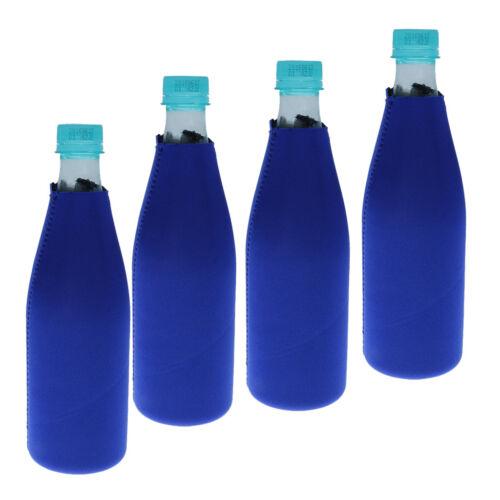 4pcs/set Beer Bottle Water Drink Beverage Cooler Cosy Cover