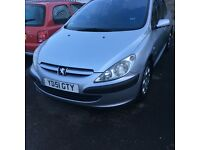 Peugeot 307 1.4 very cheap 2001 £260ono