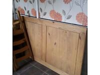 Lovely Pine Dining Table & 4 Very Sturdy Chairs. REDUCED AS SALE NEEDED. OPEN TO OFFERS.
