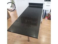 Black Starlight Quartz granite kitchen worktop