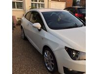 SEAT IBIZA FR TSI 1.2 WHITE SPORT CAT D LOW INSURANCE GROUP EXCELLENT CONDITION