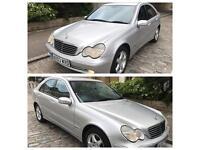 Mercedes c270 cdi avantgarde se diesel auto 2003