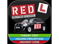 Learn driving with Red driving school