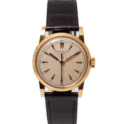 Patek Philippe Calatrava 2460 with 30mm 18ct Yellow Gold case and Cream dial....
