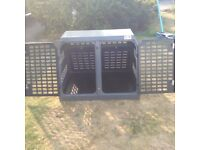 Car crate by the Dog Transport Company. **Bargain**